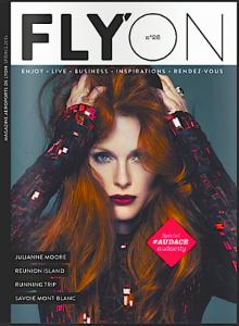 Un article pour la statue dans le magazine Flyon
